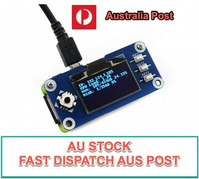 AU28.88 • Buy 1.3 Inch OLED Display Raspberry Pi HAT Expansion Board - AU Stock Fast Dispatch