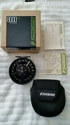 $435 • Buy SAGE 8000 PRO Series 8080 Fly Fishing Reel Stealth Color
