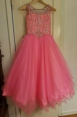 $200 • Buy Sugar By Mac Duggal Girls Size 10 Pageant Dress
