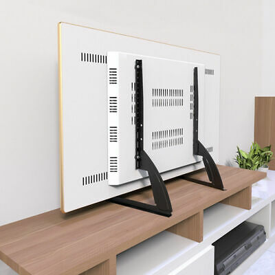 Universal LCD Flat Screen TV Table Top Stand Base Mount Super Stable Feet 27-65  • 18.49$