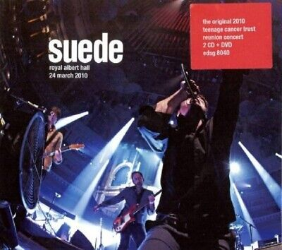 Suede - Royal Albert Hall,24 March 2010 2 Cd + Dvd New! • 68.12£