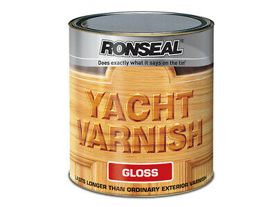 Ronseal Exterior Yacht Varnish Gloss 500ml RSLYVG500 • 18.04£