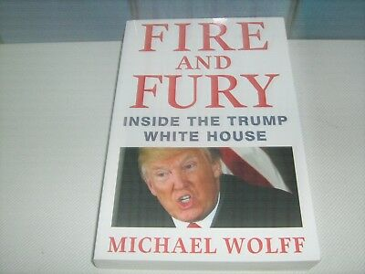 AU25.50 • Buy Fire And Fury Inside The White House Michael Wolff