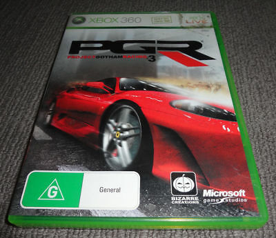 AU8 • Buy Xbox 360 Game - Project Gotham Racing 3