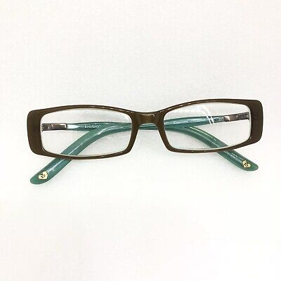 "33003e7a3e Bebe Eyeglass Frames ""Le Hot"" Cocomint 51•15•135 Brown Green"