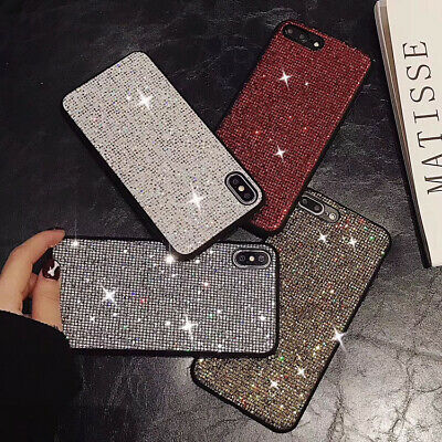 AU5.73 • Buy INS HOT Fashion Luxurious Glitter Square Diamond Case Cove For Various Phone