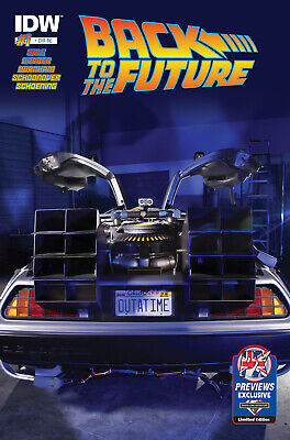 Back To The Future #1 Previews Uk Variant Idw • 7.49£
