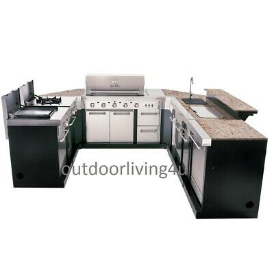 $7875 • Buy Ultimate Outdoor Kitchen W/ GRILL, SINK, REFRIGERATOR, STOVE,GRIDDLE & GRANITE