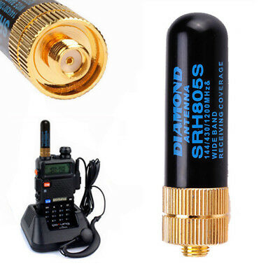 SRH805S SMA-F Female Dual Band Antenna For Baofeng GT-3 UV-5R BF-888s Radio U • 5.57£