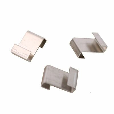 Aluminium Lap Z Clips For Greenhouse And Coldframe Window Support  • 3.99£