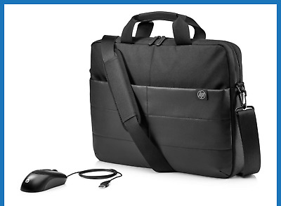 AU33 • Buy HP 1FK06AA 15.6  Classic Briefcase Carry Case Laptop Bag +  Optical Mouse  NEW