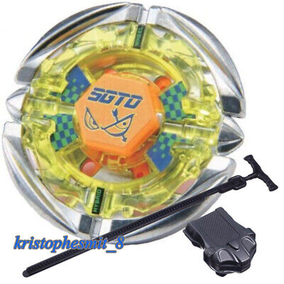$5.69 • Buy Beyblade BB35 Flame Sagittario 4D Metal Fusion Beyblade Constellation Launcher