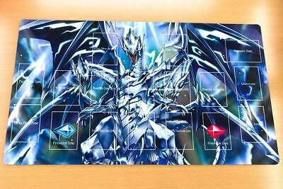 AU34.20 • Buy F3472+ Yugioh Playmat Blue-Eyes Alternative Ultimate Dragon Play Mat With Zones