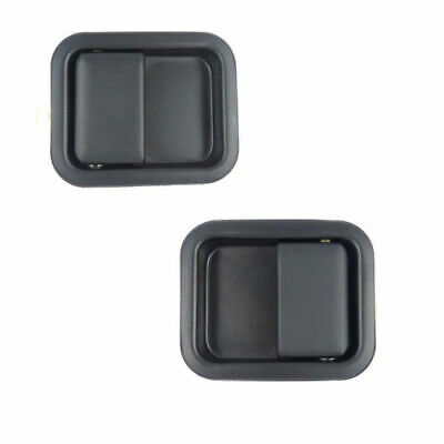JEEP WRANGLER CJ YJ TJ 1986-2006 OUTER DOOR HANDLE FRONT LEFT & RIGHT - 2 Pcs • 999.99£