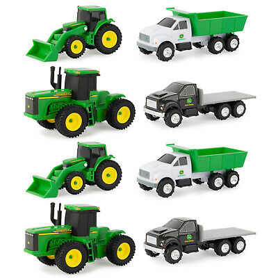 AU29 • Buy 8pc John Deere Carded Diecast Toys Farming Vehicles Tractor/Truck Gift Set Green