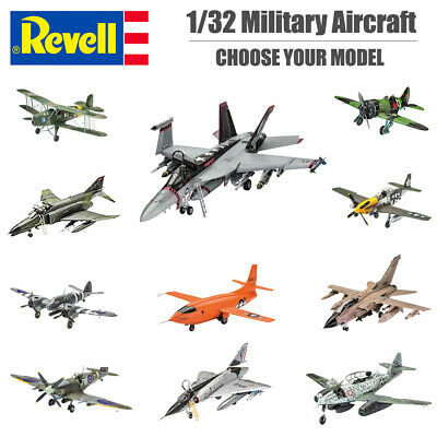 REVELL Military Aircraft Plastic Model Kit 1:32 Scale - Kit Choice • 30.95£