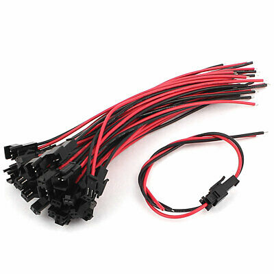 AU12.96 • Buy 140mm Length Cable Wire JST SM 2 Terminal Male Female Connector 15 Pairs