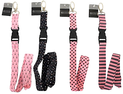$14.95 • Buy Car Accessories Key Chain Ring Holder Fob Necklace Key Chains Lanyard Women Pink