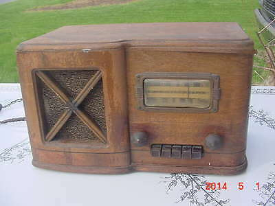$ CDN304.48 • Buy Vintage Rare 1939 Sears Catalog Silvertone 7251 Tube Radio Wood Case Art Deco