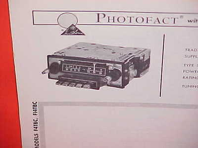 $14.99 • Buy 1964 Lincoln Continental Convertible Sedan Am-fm Radio Service Manual Brochure