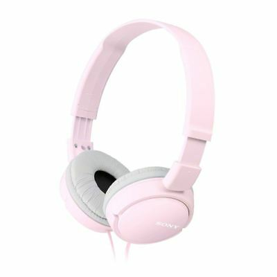 Sony Headphones MDR-ZX110 Overhead Foldable Stereo Sound Pink Headband • 18.49£