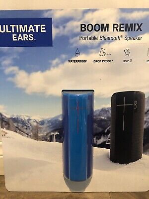 AU117.98 • Buy [No Tax] UE Boom Remix Bluetooth Speaker, Rechargeable Battery Up To 15 Hours