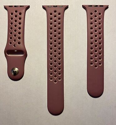 $ CDN202.75 • Buy Apple Watch Nike+ Violet Dust Plum Fog Sport Band Series 1 2 3 42mm 4 5 44mm OEM