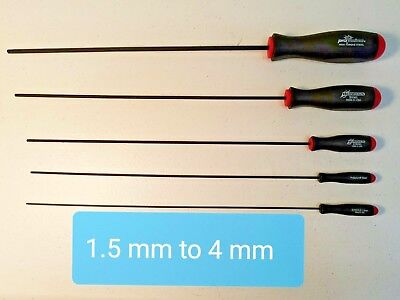 AU18.56 • Buy Hex Key Extra Long Ball Drivers (Allen Key Tools) Hex Tools. Individual And Sets