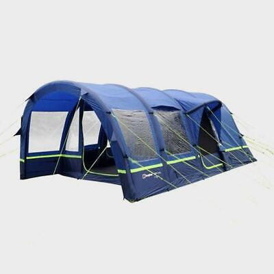 New Berghaus Air 4XL Tunnel Design 4 Person Family Tent • 677.99£