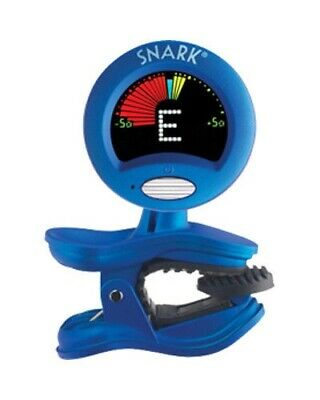 $ CDN13 • Buy Snark SN-1X Guitar Bass Clip-On Chromatic Tuner Blue