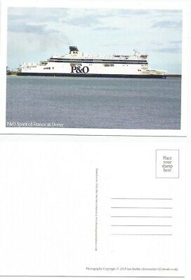 £5 • Buy P & O Spirit Of France And Britain Ferries At Dover Postcards
