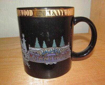 $8 • Buy Kennywood Park, LOST KENNYWOOD Cup Mug Black, Pittsburgh Pa.