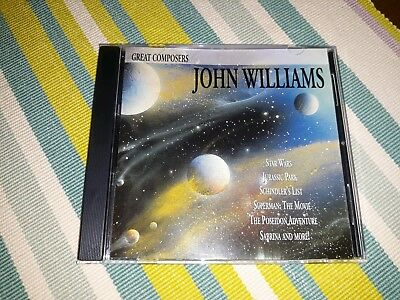 Great Composers Cd Soundtrack Score - Rare And Oop - John Williams • 11.99£