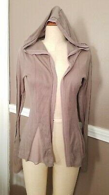 $ CDN24.89 • Buy Beautiful Hooded Light Brown Anthropologie Sweater By Sparrow!! Size Small!!