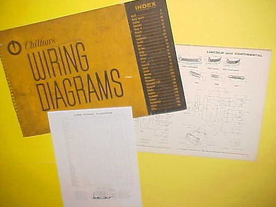 1958 1959 1960 1961 1962 1963 lincoln continental convertible wiring  diagrams • 19 99$