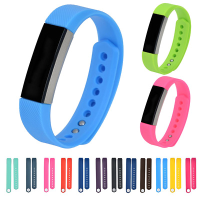 AU6.34 • Buy For Fitbit Alta HR, ACE Strap Replacement Stud Buckle Silicone Sport Watch Band