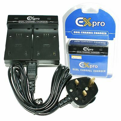 £14.97 • Buy DUAL Battery Charger For Toshiba PDR-BT3 Camileo H10 S10 P30 PDR-T20 T30 5300
