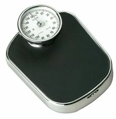 Traditional Retro Chrome Bathroom Scale Weighing Scales - 160kg / 25st • 38.92£