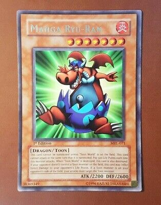 AU5.95 • Buy Yugioh! - Manga Ryu-Ran - MRL-071 - 1st Edition - Rare - English Card - M/NM