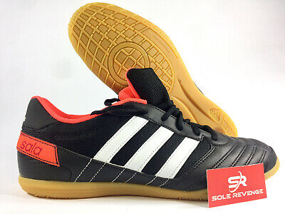 d3d1df254 New 9 Adidas Freefootball Super Sala Indoor Soccer Shoes Black Orange  Q21617 X1 • 89.99