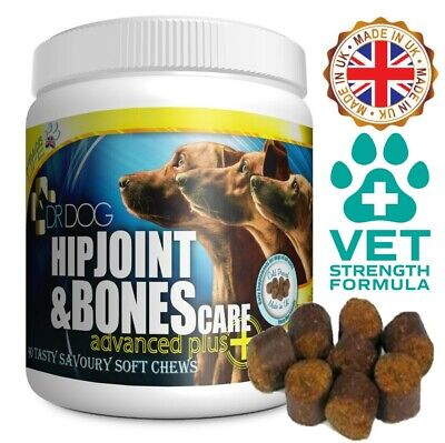 DR DOG Joint Supplement 90 CHEWS : More Support To Yumove Lintbells Dogs Tablets • 24.99£