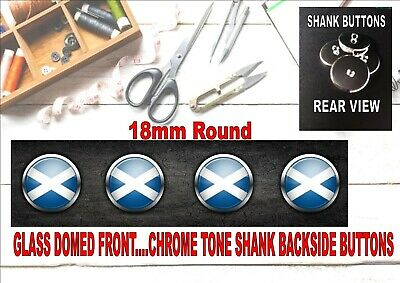 £8 • Buy Scottish Flag Design Buttons For Home Needle Crafts And Sewing Arts & Crafting