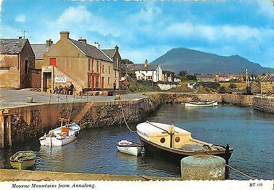 BR87571 Mourne Mountains From Annalong Boat  Northern Ireland • 2.99£
