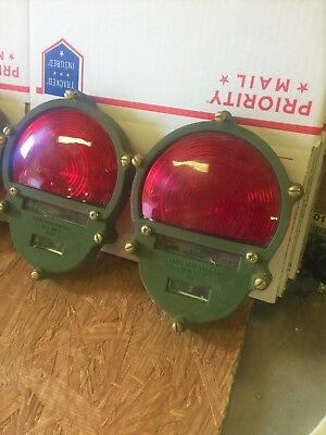 $39.99 • Buy 2 NEW! MILITARY TAIL LIGHT LENS METAL 2-Tail Light Lens Metal.Military Sold As 2