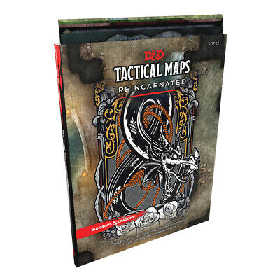 AU37.95 • Buy Dungeons & Dragons Tactical Maps Reincarnated NEW