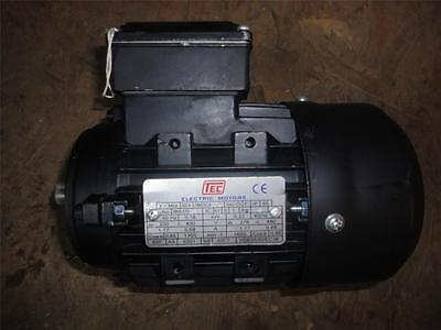 TEC ELECTRIC MOTOR 0.1843TECA   0.18kW  0.68A  SEE PHOTO'S #D829 • 60£