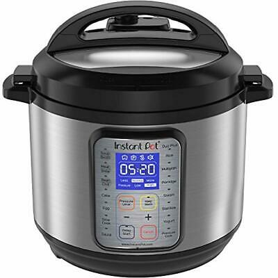 $145.19 • Buy Instant Pot DUO Plus 60, 6 Qt 9-in-1 Multi- Use Programmable Pressure Cooker, S