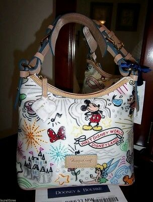 $399.90 • Buy NWT~ Disney SKETCH LUCY BAG By DOONEY & BOURKE Near Perfect Design!