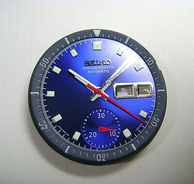$ CDN80.45 • Buy Complete Set Of 6139-6002 Pogue Dial Hands And Inner Bezel  / Pepsi Blue Chrono