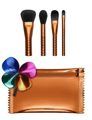 $34.99 • Buy MAC Shiny Pretty Things Face Brush Kit~5-Piece Set With Bag~$142 Value~New/Boxed